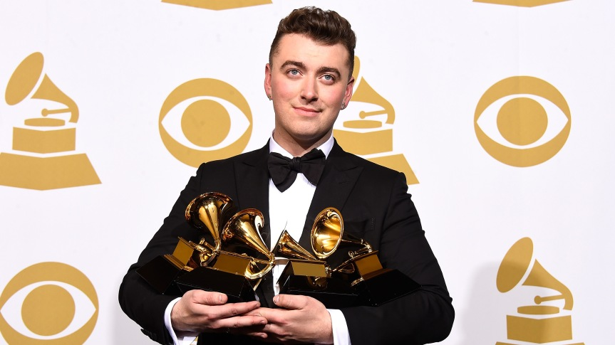 #Grammys Social Data: Sam Smith Tops Facebook, Beck-Kanye West Moment Leads on Twitter