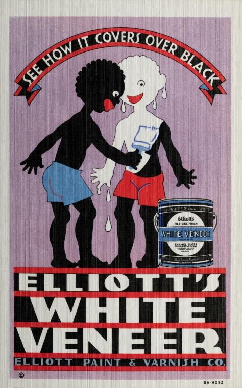 Advertisement for Elliott's White Veneer