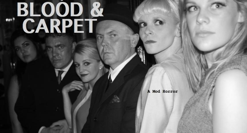 Graham Fletcher-Cook, making movies  on Blood &Carpet